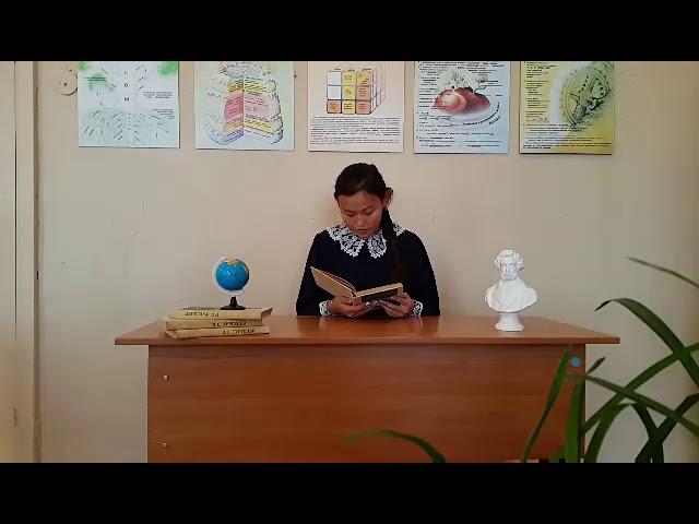 Изображение предпросмотра прочтения – ТамараХамаева читает произведение «Стихотворения в прозе. Воробей.» И.С.Тургенева