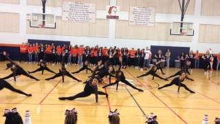 1080p Brandeis Ballet Dance Company Pep Rally Performance September 26th 2014