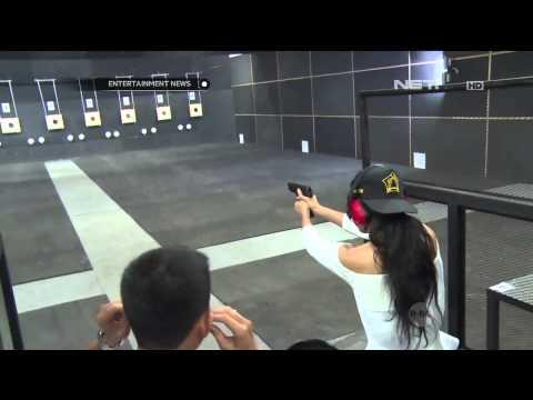 Widi Vierratale hobi olahraga menembak