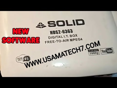 Repeat New Solid 6303 software upgrade to Alphabox software