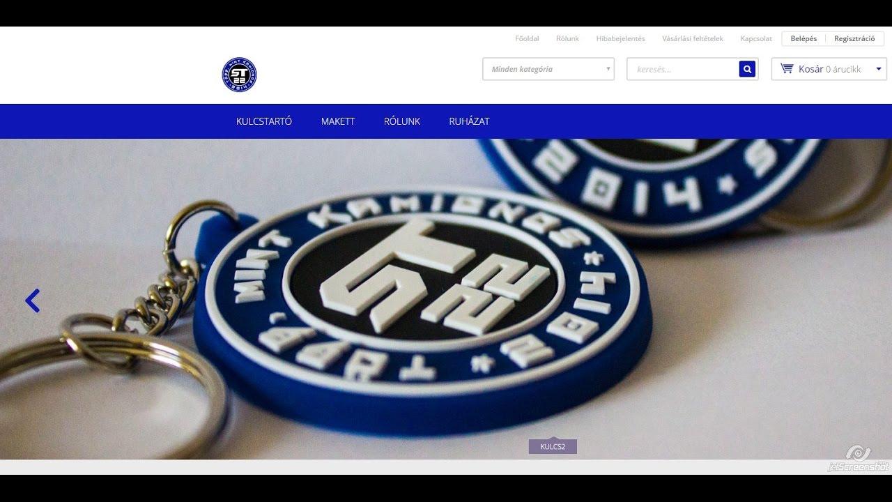f081c1b1c6 st22 Webshop nyitás. - YouTube