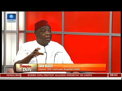 Peter Obi Has Split Anambra State - Dan Ulasi |Sunrise Daily|