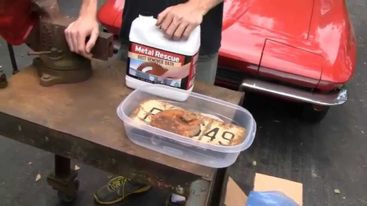 Metal Rescue Rust Remover Review Youtube