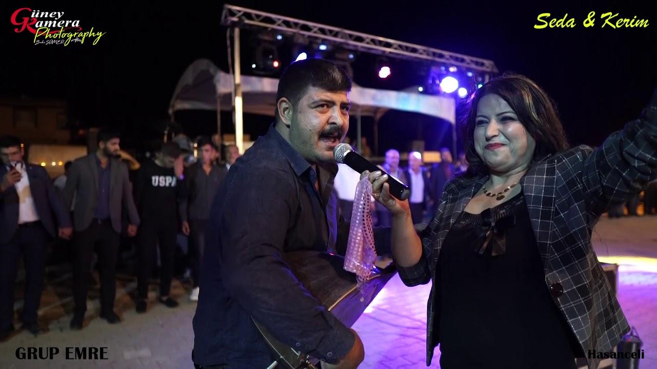 MEGRî MEGRî 2020 EMRE ÇİL İLE PINAR CAN DÜET Hasanceli Köyü Kerim Karakuşun Düğünü GÜNEY KAMERA JİMİ