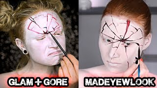 I Tried Following A MADEYEWLOOK Makeup Tutorial