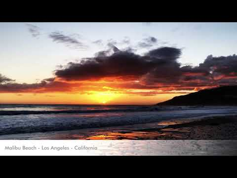 Sunset in Malibu Beach - Los Angeles - California