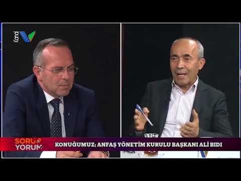 ANFAŞ Yönetim Kurulu Başkanı Ali Bıdı Kanal V Soru Yorum programına konuk oldu