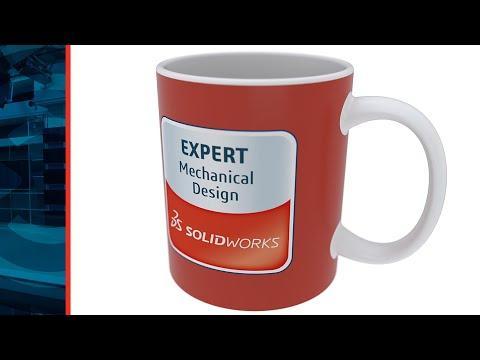 Coffee Mug Design While Drinking Coffee - Episode 1 - SOLIDWORKS Live Design