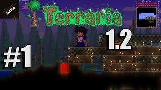 Let's Play Terraria 1.2 Walkthrough | Episode 1 | New Beginning