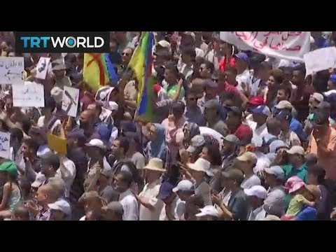 Crowds protest against corruption in Morocco