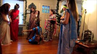 American Birthday Party  Indian Sari Experience