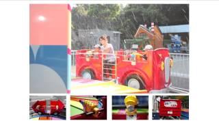 2013年7月にみさき公園に岡本製作所が設置・導入した遊具、「水丸ニンニ...