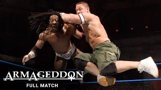 FULL MATCH - John Cena & Batista vs. King Booker & Finlay: WWE Armageddon 2006