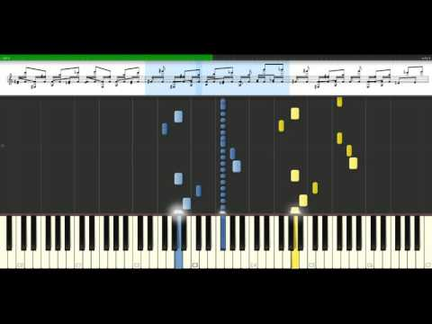 BoB  Airplanes feat Hayley Williams Piano Tutorial Synthesia