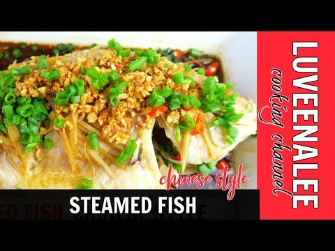 Steam fish chinese style youtube