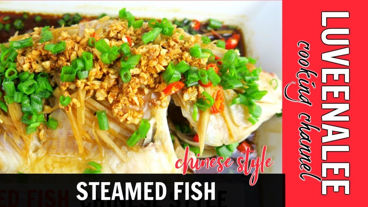 Steamed fish chinese style steamed fish recipe youtube steamed fish chinese style steamed fish recipe forumfinder Images