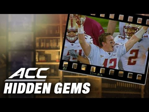 Boston College QB Matt Ryan Leads Eagles Past #15 Clemson | ACC Hidden Gem