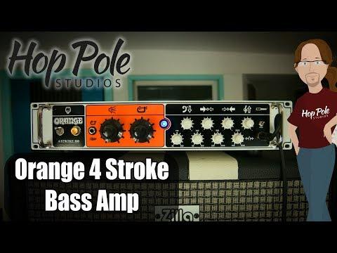 Orange 4 Stroke Bass Amp Review - Class AB British Goodness!