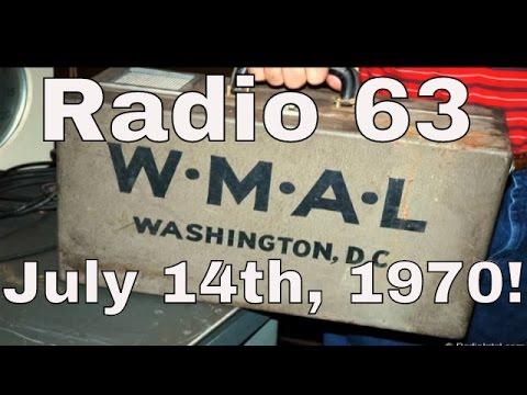 WMAL Radio 63, July 14, 1970 8:30 AM