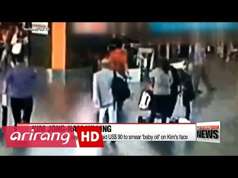 Suspect in Kim Jong-nam killing paid to smear 'baby oil' on Kim's face
