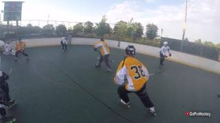 GoPro Roller Hockey   Big Hit, Deking Failed (HD)