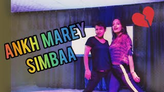 SIMMBA - Aankh Marey Dance Video | Freestyle Dance Choreography | Ranveer Singh, Sara Ali Khan