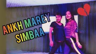 SIMMBA - Aankh Marey Dance Video | Freestyle Dance Choreography | Ranveer Singh, Sara Ali Khan