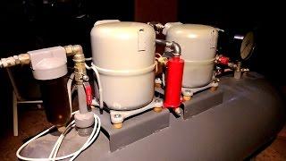 Делаем воздушный компрессор из холодильника своими руками(, 2016-06-28T21:43:59.000Z)