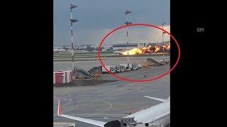 Посадка самолета в Шереметьево/Москва-Мурманск [05.05.2019]