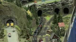 International Model Railway Exhibition in Kaarst, Germany - 2012-02-25