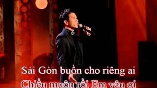 Sài Gòn Buồn Cho Riêng Ai (Đăng Khánh) - Nguyên Khang (Karaoke) - Revised