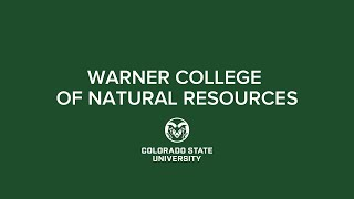 Spring 2021 Commencement | CSU Warner College of Natural Resources
