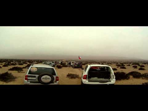 Raid Semana Santa Huasco & Vallenar 2014, Ruta Dia