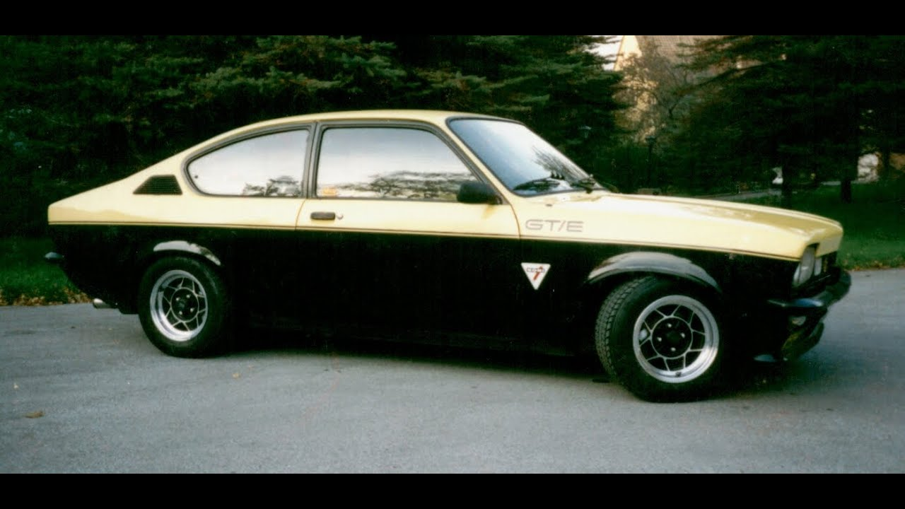 mein 77 39 er opel kadett c coupe 1 9 gte original video von 1987 youtube. Black Bedroom Furniture Sets. Home Design Ideas