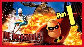 The Incredibles: Rise of the Underminer Walkthrough Part 1 Supers Return!