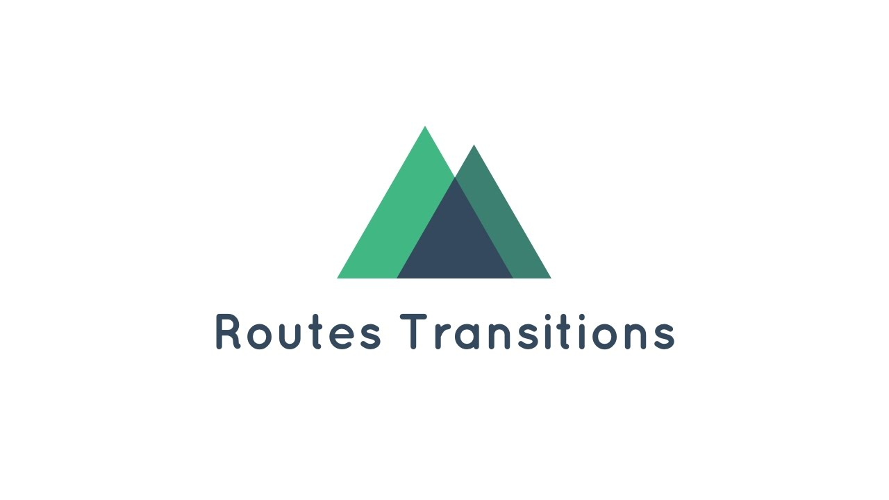 Set up routes transitions easily when using Nuxt