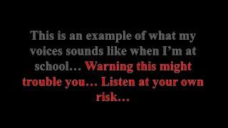 My Auditory Hallucinations