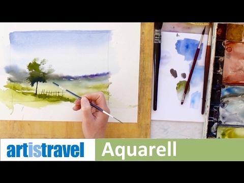 Ganz einfach malen lernen 3: Einfache Landschaft