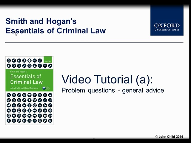 criminal law problem question Criminal problem question considered preparatory but the pointing of the gun was considered 'sufficient evidence of an attempt' (childs, penny criminal law.