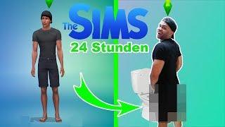 24 STUNDEN WIE MEIN SIM LEBEN CHALLENGE !!! | PrankBrosTV