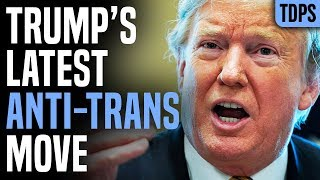Trump Somehow Makes Life Harder For Homeless Trans People