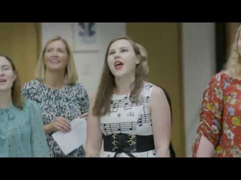 "Flash Mob at UWE Bristol Business School - ""This Is Me""  The Greatest Showman"