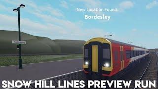 hhwheat's Snow hill lines preview run roblox