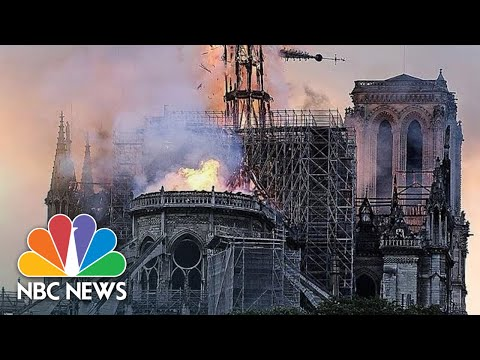 Christie James - BREAKING: Massive Fire At Notre Dame Cathedral In Paris