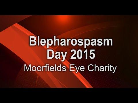 Blepharospasm Day 2015 - Moorfields Eye Charity