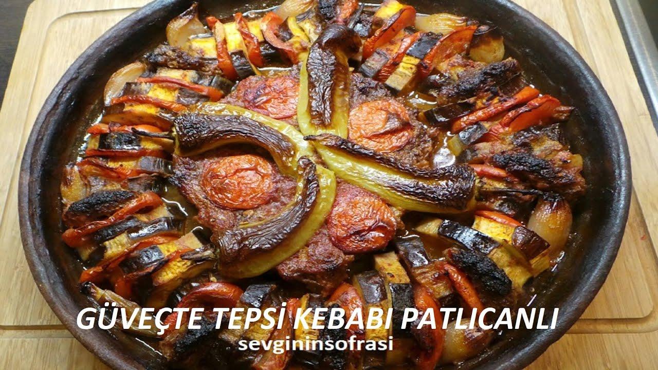 Antep Usulü Tepside Patlıcan Kebabı