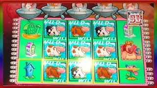 ** SUPER BIG WIN ON CLASSIC INVADERS AT CHICKEN RANCH CASINO ** SLOT LOVER **