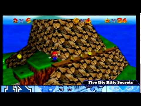 Super Mario 64: Tiny-Huge Island - Five Itty Bitty Secrets