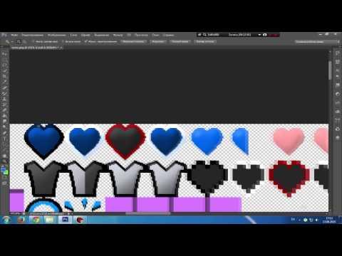 Гайд - Как сделать Minecraft ресурс пак - 3 - Font и GUI. :)