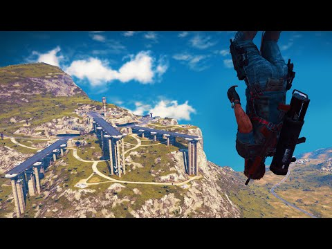 WORLD'S STRONGEST MOUNTAIN BASE! (Just Cause 3)